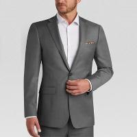 Sivý svadobný oblek